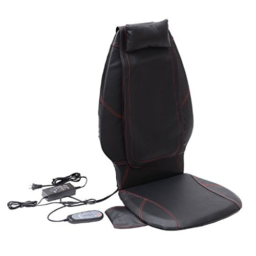 HomCom-Multi-function-Shiatsu-Massage-Seat-Cushion-Black
