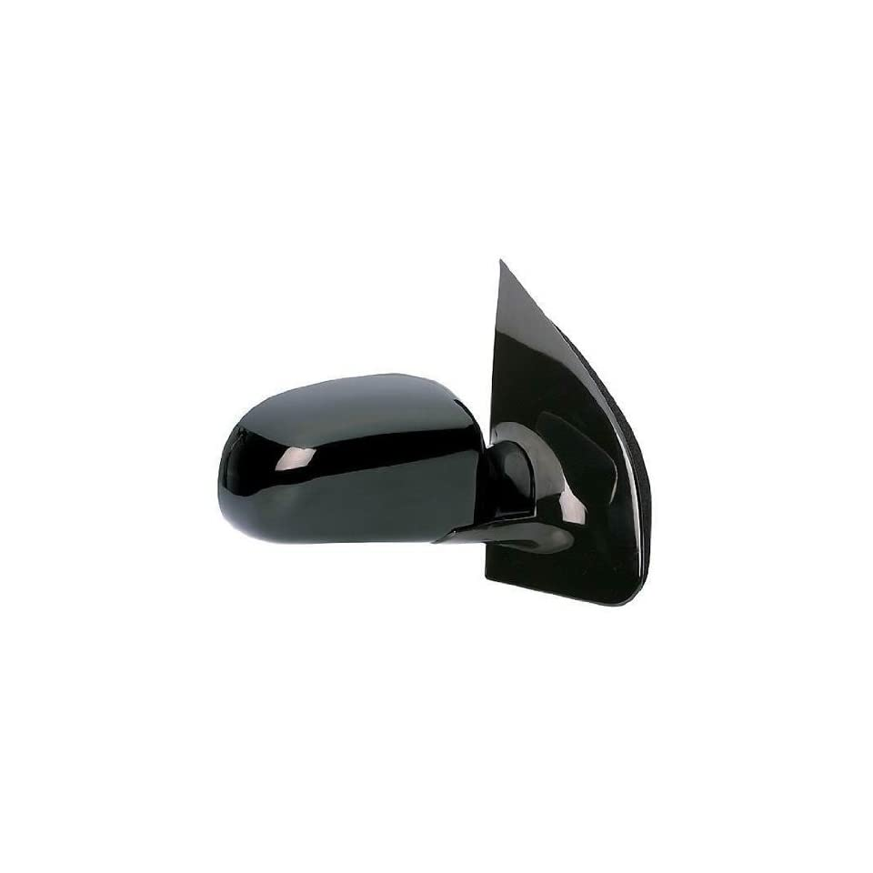KAP FO1321181 New 1999 2003 Ford Windstar Passenger Side Mirror Manual Gloss Black Right Door Replacement