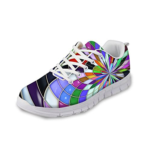 Womens Lightweight Running Breathable Floral2 Idea Shoes Stylish Sneakers Hugs Fashion 5wHaPn4Ixq