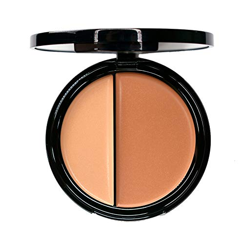 EVE PEARL HD Dual Foundation Full Coverage Long Lasting Everyday Make Up Non Greasy Lightweight Texture Vitamin E Skincare (Medium)