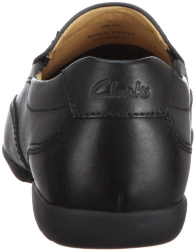 On Clarks Neroblack 20348487Slip Chiuse Recline Free Uomo Leather QCthdsr