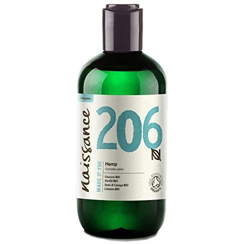 Naissance Organic Cold Pressed Virgin Hemp Seed Oil (no. 206) 250ml –...