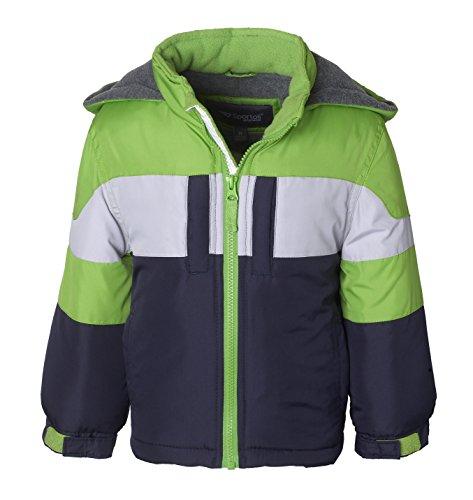 Hooded Fleece Coat - 6
