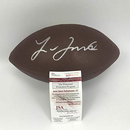 Autographed Leonard Fournette Football - LSU Brown COA - JSA Certified - Autographed Footballs