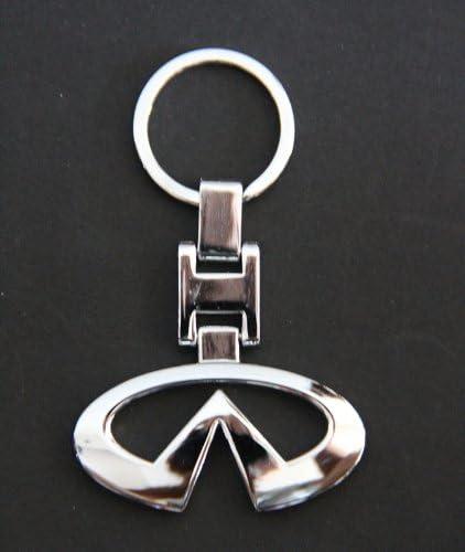 Amazon.com: Nissan Infiniti metal Llavero Clave Cadena Clave ...