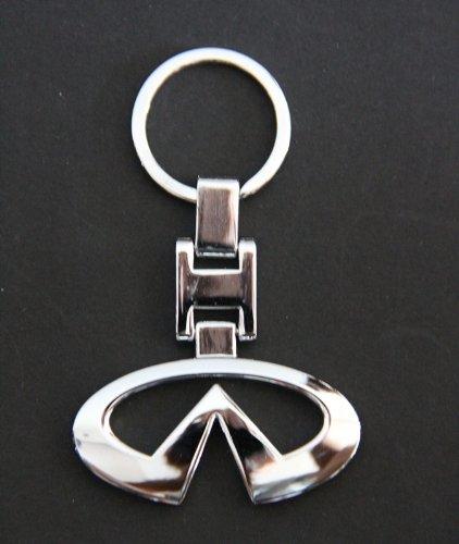 NISSAN INFINITI Metal Keychain Key Chain KEY Ring