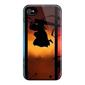 BoZtQIl1491QefhM Snap On Case Cover Skin For Iphone 4/4s(bleach Anime)