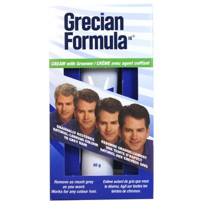 Grecian Formula Cream with Conditioner and Groomer Hair Colo