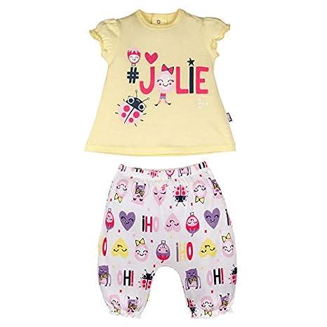Ensemble bébé fille t-shirt + sarouel Jolie - Taille - 9 mois (74 cm) Petit Béguin