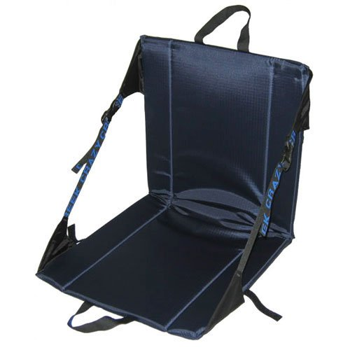 Crazy Creek Original Chair - The Original Lightweight Padded Folding Chair - Navy Blue