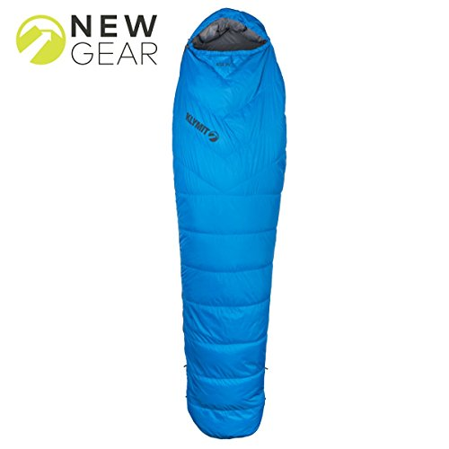 KLYMIT KSB 35 Degree Down Sleeping Bag (New for 2018), Blue by Klymit (Image #2)