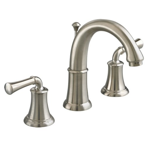 American Standard 7420.801.295 Portsmouth Widespread Bathroom Sink Faucet with High-Arc Spout, Satin Nickel by American Standard