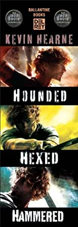 The Iron Druid Chronicles Starter Pack 3 Book Bundle border=