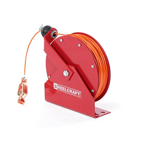 Reelcraft GA3100 N Spring Retractable Grounding Reel, 100