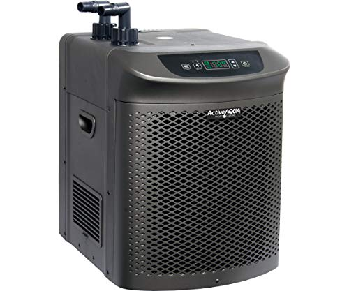 (Active Aqua AACH50HP Water Chiller Cooling System, 1/2 HP, Rated per hour: 4,020  BTU, User-Friendly)