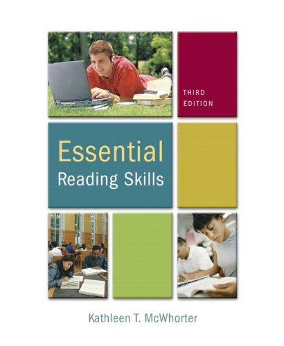 Essential Reading Skills (with MyReadingLab Student Access Code Card) (3rd Edition)