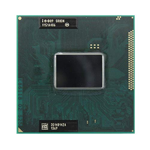 Intel Core i3-2350M SR0DN 2.3GHz 3MB Dual-core Mobile processor CPU Socket G2 988-pin (Renewed) ()