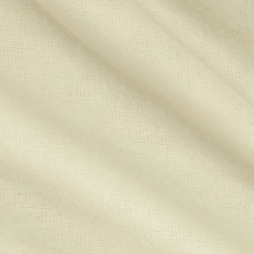 Robert Kaufman Kaufman Flannel Solid Snow Fabric by The Yard, Snow