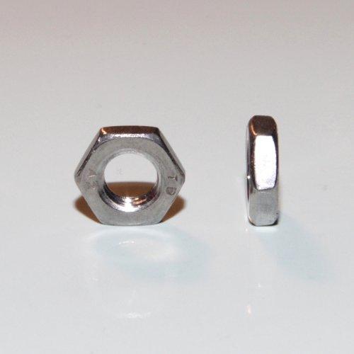 Gut bekannt 1 Stück Sechskantmutter niedrige Form B M8 A2 DIN 439 Edelstahl VA WL88