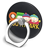 Eric Cartman Stan Marsh Kyle Broflovski Kenny McCormick Mr Garrison South-Park Cell Phone Ring Holder, 360¡ãRotation Finger Ring Stand Phone Ring Grip for iPhone X/8/8 Plus, Galaxy S9/S9 Plus