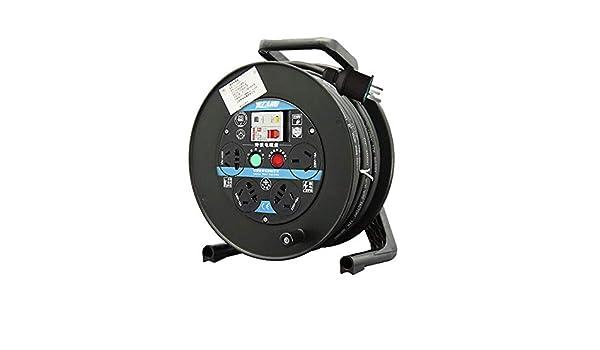 4-Gang plastique vide Câble Reel tambour 50 M-PRO ELEC