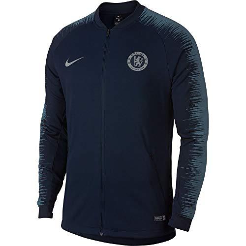 Nike Mens Chelsea FC Anthem Jacket (Obsidian/Celestial Teal) Size 2XL