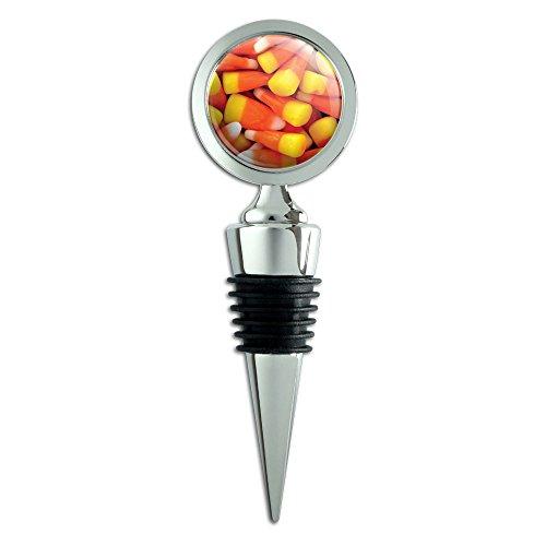 Candy Corn Awesomeness Halloween Wine Bottle Stopper ()