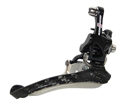 Record 11 Front Derailleur - Campagnolo Record 11-speed Front Derailleur Braze-on S2 System - Black