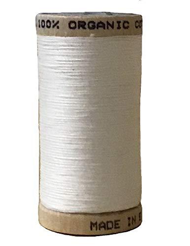 Multipurpose Organic Cotton Sewing Thread - Natural - 300 Yard -