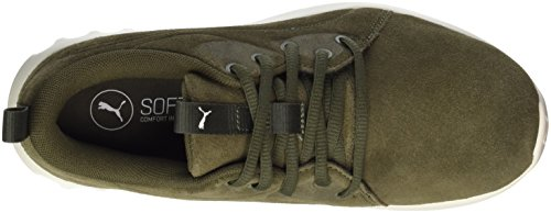 White Molded Outdoor Suede whisper Olive Chaussures 2 Night Carson Adulte Vert Mixte Multisport Puma xnqSOYF