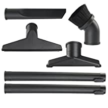 WORKSHOP Wet Dry Vacuum Accessories WS17856A 1-7/8-Inch Shop Vacuum Attachment 6-Piece Kit For Use With A Wet Dry Shop Vacuum