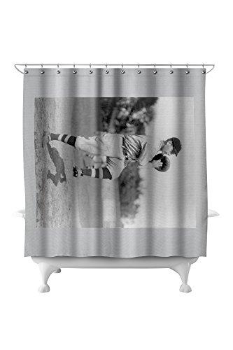 Walter Blair, NY Highlanders (Yankees), Baseball Photo (71x74 Polyester Shower Curtain)