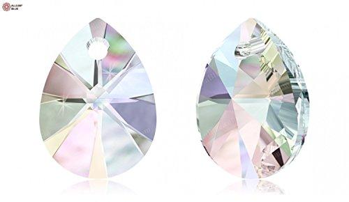 スワロフスキー XILION Mini Pear ペンダント (6128) 12mm - クリスタル AB (001AB) x 2粒の商品画像