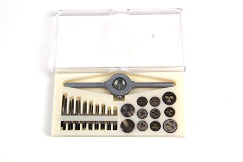 PROFI Miniatur Gewindeschneidsatz 30 tlg. M1-M2,5 , Gewindeschneider, Schneideisen, Gewindebohrer
