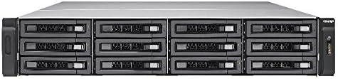 QNAP TES-1885U Ethernet Bastidor (2U) Negro NAS - Unidad Raid (Unidad de Disco Duro, SSD, Serial ATA III, 2.5/3.5