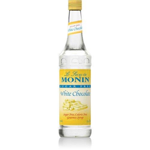 (Monin Sugar Free White Chocolate Syrup, 750)