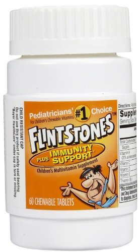 Flintstones Multivitamin + Immunity Support Chewables - Fruit Flavor - 60 ct