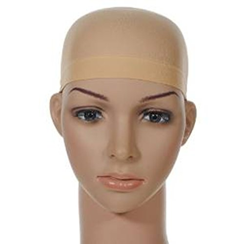 Tomorrow Lover® New Professional Cool Mesh Wig Caps Nude/natural Tone Hair Beige Hairnet Wig Cap - Cool Skin Tone