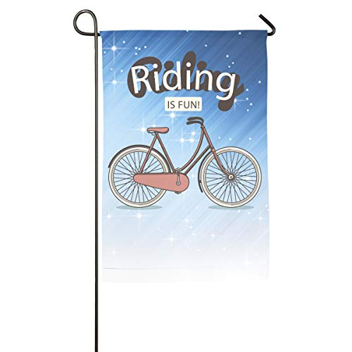 (Shenigon Bike Home Family Party Flag 101 Hipster Welcomes The Banner Garden Flags)