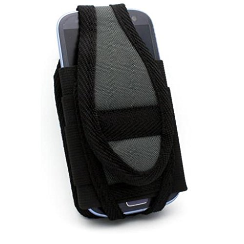 Nite-Ize Cargo Case Rugged Canvas Cover Phone Holster with Belt Clip for Verizon Samsung Stealth V SCH-i510 - Verizon Samsung Stratosphere - Virgin Mobile Alcatel Dawn
