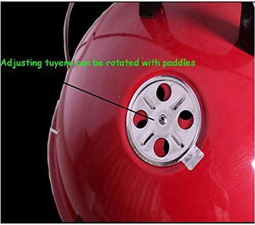 ZhangWenBin Foyer De Feu Portable De Ménage, Grand Incinérateur en Métal Pliant Brasier Épais Et Durable Grand Foyer De Chauffage en Hiver Brasier -50X40cm
