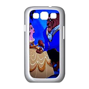 Classic FashionDisneys-Beauty-and-the-Beast Samsung Galaxy S3 9300 Cell Phone Case White Trendy Creative funny LOHL3HTY805995