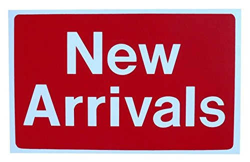 1 Pc Heart-stirring Unique New Arrivals Sign Plastic Decal 1-Side Printed Discount Display Yard Signage Homes Land Decals Real Estate Sale Signs House Business Tags Clearance Price Size 7