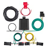 CURT 56344 Vehicle-Side Custom 4-Pin Trailer Wiring Harness for Select Jeep Compass