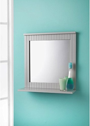 Scotrade New Stunning Maine Grey Wall Mirror great home interior choice for your bathroom.