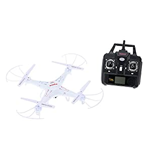 X5C white red quadcopter