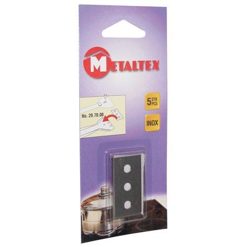 Metaltex 297014010 Cuchillas de Repuesto para vitrocerámica ...