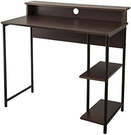 Versanora Nathan 35″ Modern Wood Home Office Study Computer Desk