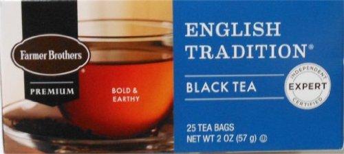 - Farmer Brothers English Tradition Black Tea- 25 bags