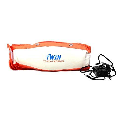 TELEBrands-HBN Toning Motion Twin Single Motor Massage Belt with Free Push Up Bar